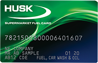 Husk Supermarket Fuel Card
